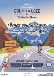 Col de la Loze <br>by Brides Les Bains 2021