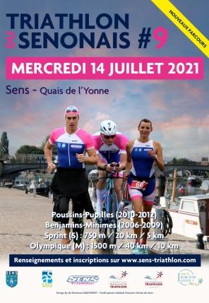 9e Triathlon du Sénonais