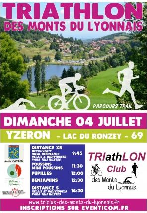 Triathlon des Monts du Lyonnais
