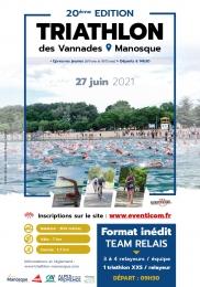 Triathlon des Vannades - Manosque