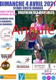 DUATHLON DES VIGNOBLES 2021