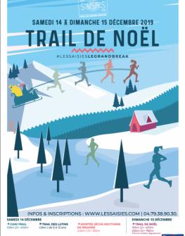 Trail  de Noël des Saisies