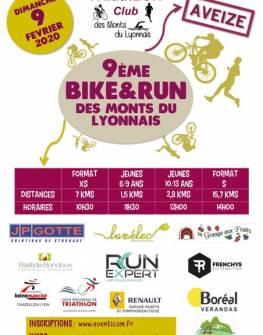 9ème Bike&Run des Monts du Lyonnais